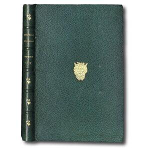 Epistole d'Ovidio, di latino in lingua toscana tradotte, et nuovamente con somma diligenza corrette. OVIDIO, Publio Naso. [ ] [Rilegato]