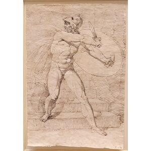 Studio per un Aiace Giuseppe Cammarano (Sciacca 1766 – Napoli 1850) [Ottimo]
