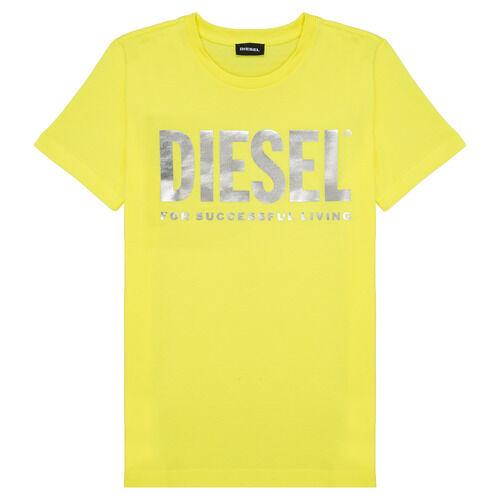 Diesel T-shirt TSILYWX ragazza Giallo 14 ans,16 ans