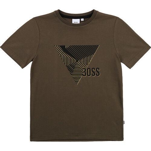 Boss T-shirt SIMEO ragazzo Kaki 14 anni,16 anni