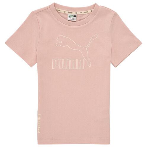 Puma T-shirt T4C TEE ragazza Rosa 1 / 2 anni,2 / 3 anni,3 / 4 anni,4 / 5 anni