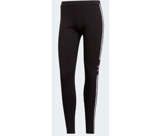 adidas leggins donna tight  trefoil nero jersey art. dv2636
