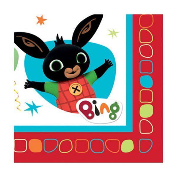 Tovaglioli Bing per Festa di Compleanno Bambino a Tema Bing