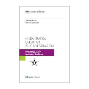 Guida Pratica Operativa alle Investigazioni, Cianchella, Cedam, 2018, Libri, Diritto penale e processuale