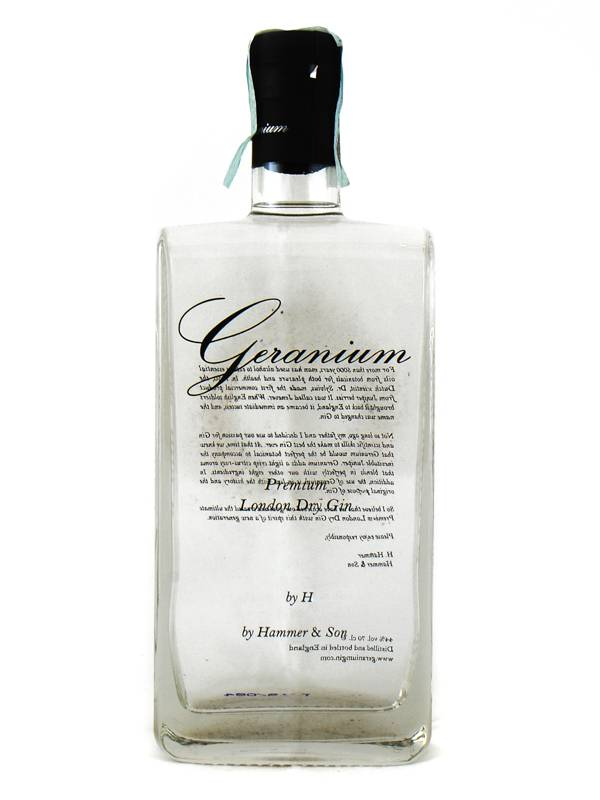 Gin Geranium Hammer & Son Gin Geranium