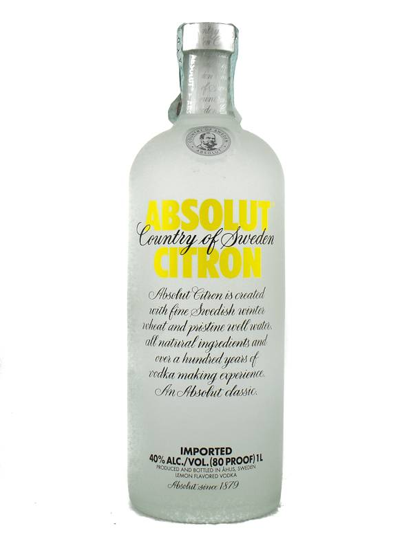 Absolut Vodka Absolut Citron