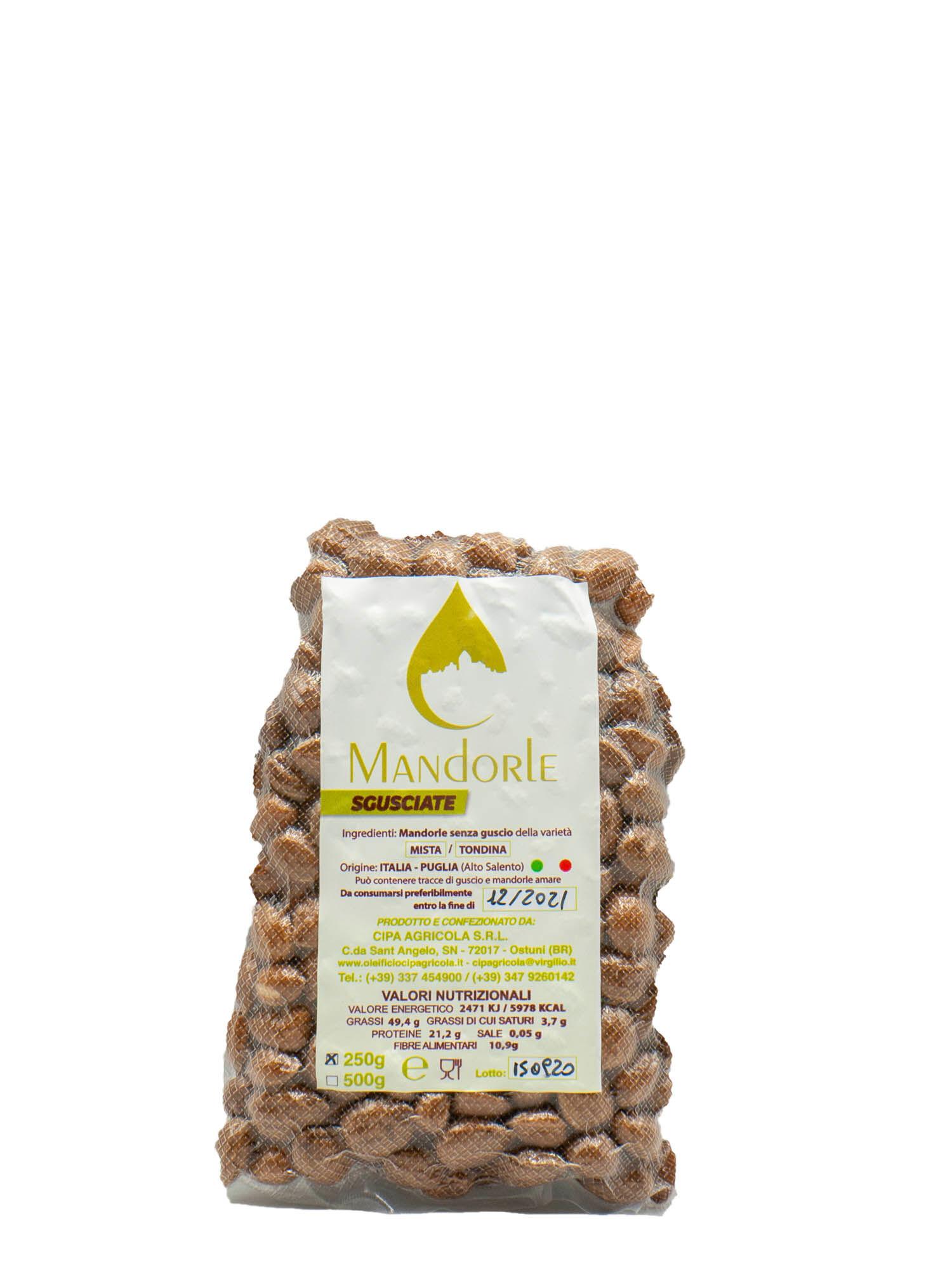 Cipa Agricola Mandorle Sgusciate Al Naturale Cipa Agricola Gr 250