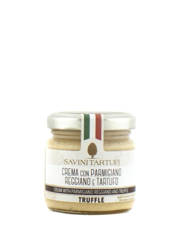 Savini Tartufi Crema Con Parmigiano Reggiano E Tartufo 90 Gr