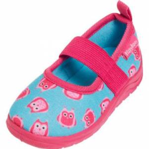 Playshoes Pantofola Monster jeans blu
