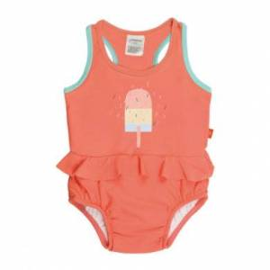 LÄSSIG Girl Splash & Fun Tuta da serbatoio arancione ghiaccio s Splash & Fun Tanksuit