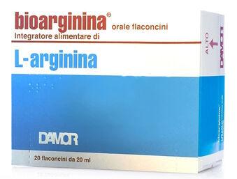 Farmaceutici Damor Spa Bioarginina Orale 20 Flaconcini Da 20 Ml