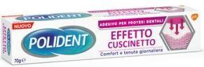Glaxosmithkline C.Health.Spa Polident Fissativo Effetto Cuscinetto Adesivo Per Protesi Dentali 70 G