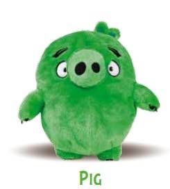Innoliving Spa Angry Birds Pig Peluche Riscaldabile