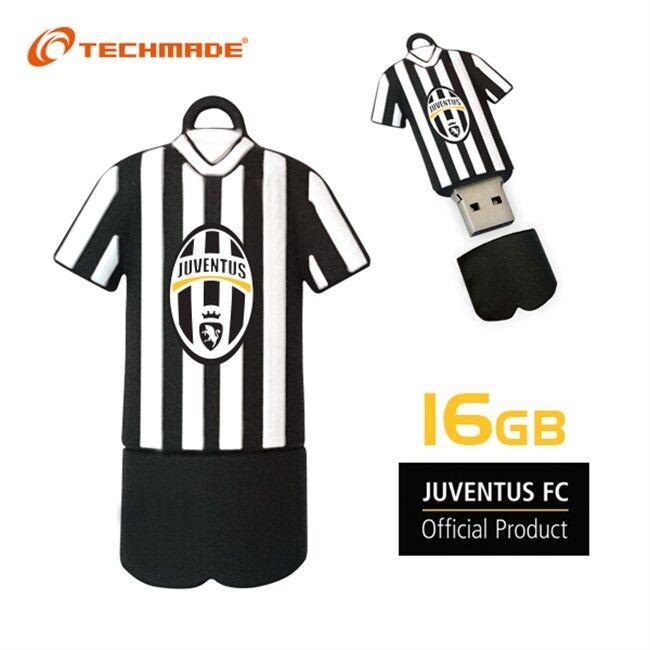 Pen Drive Techmade Usb 16gb Juventus