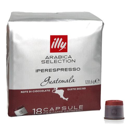 ILLYCAFFE' Conf.18 capsule caffe' guatem.illy 7117