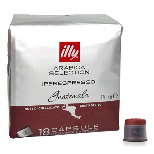 ILLYCAFFE' Conf.18 capsule caffe' guatem.illy 7117