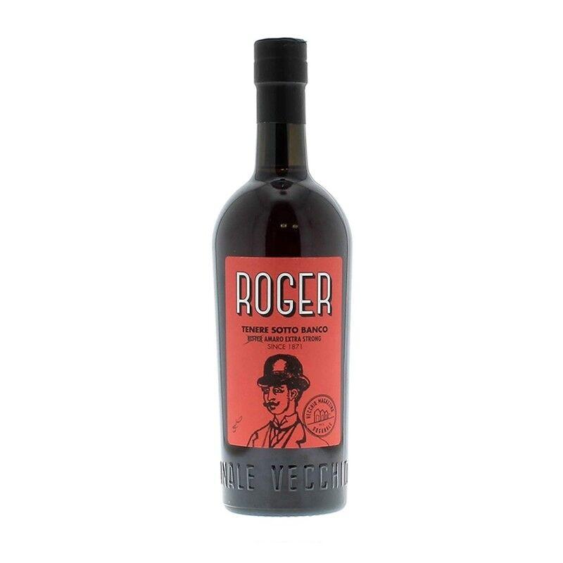 Amaro Roger Bitter Extra Strong - Vecchio Magazzino Doganale [0.70 lt]