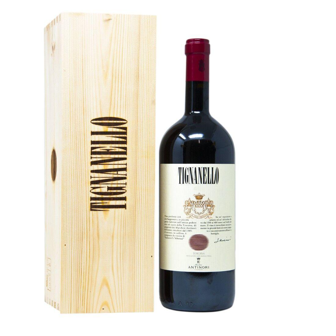 Antinori Tignanello Toscana Rosso IGT 2018 - [Magnum in legno]