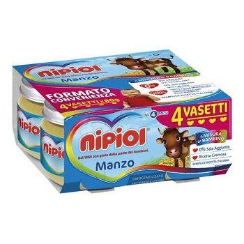 Heinz Italia Spa Nipiol Omog Manzo 4x80g