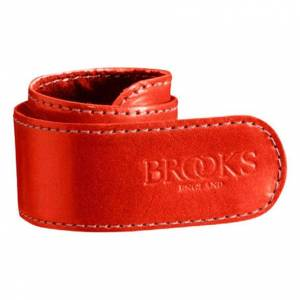 Brooks England Trouser Strap One Size Red