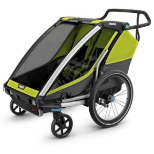 Thule Chariot Cab 2 Max 45 Kg Lime / Black