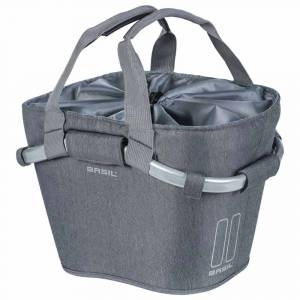 Basil 2day Carry Kf 15l One Size Grey