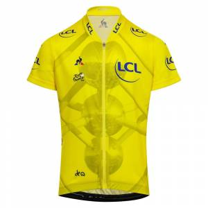 Le Coq Sportif Tdf Jersey Photo Enfant 12 Years Yellow