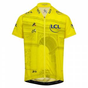 Le Coq Sportif Tdf Jersey Photo 10 Years Yellow