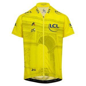 Le Coq Sportif Tdf Jersey Photo 14 Years Yellow