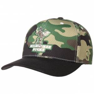Mitchell & Ness Cappellino Mesh Camo Bucks by Mitchell & Ness in camouflage, Gr. One Size