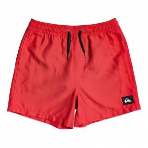 Quiksilver Everyday Volley Youth 13 16 Anni High Risk Red