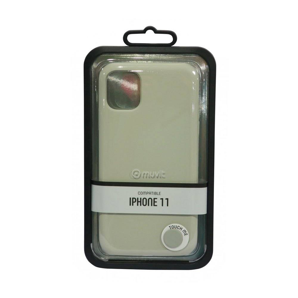 Muvit Liquid Edition Case Iphone 11 One Size Rock Ash