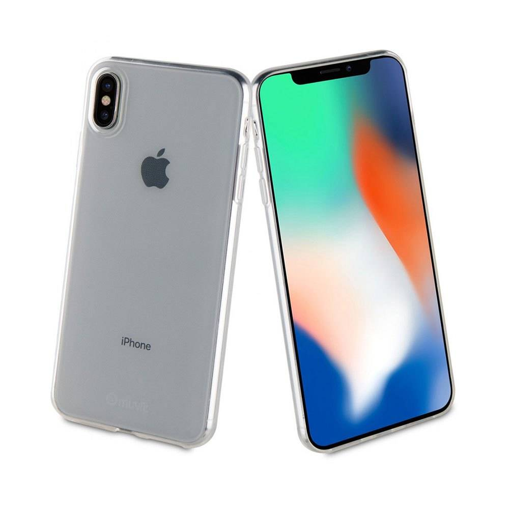 Muvit Cristal Soft Case Iphone Xs Max One Size Clear