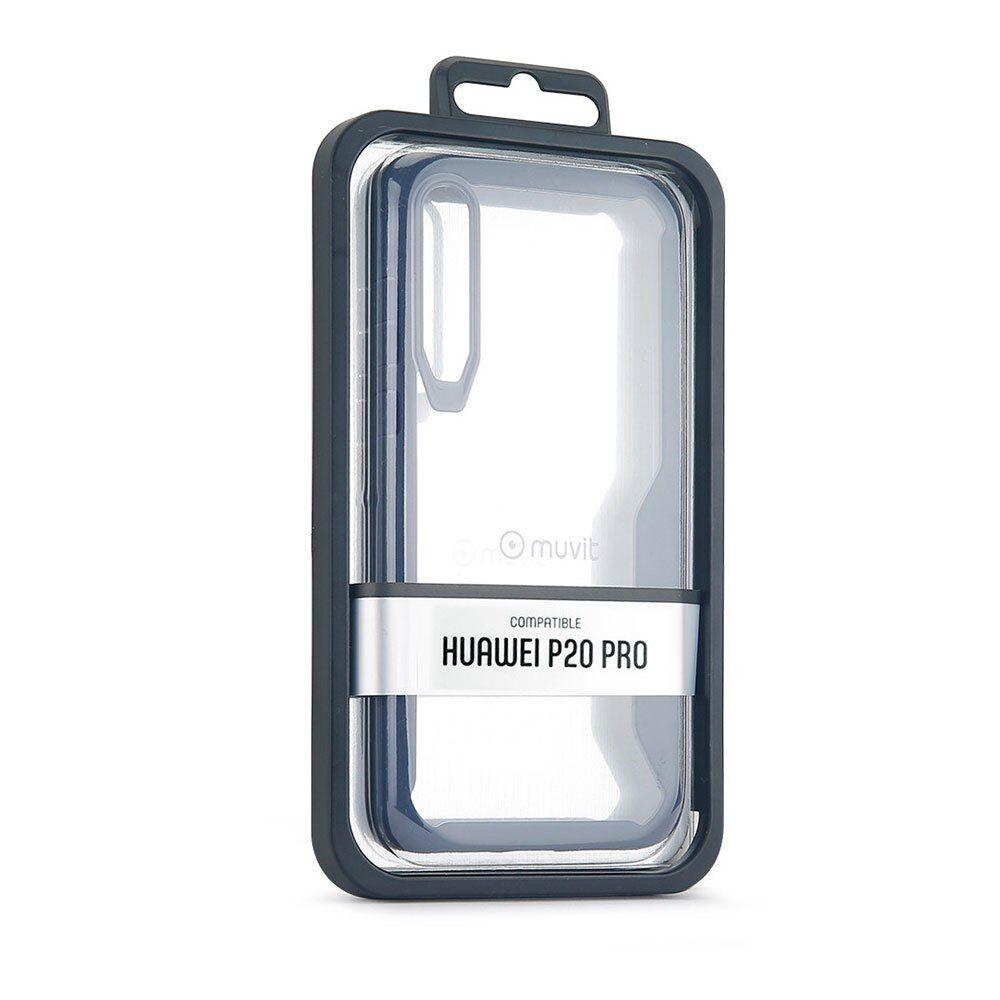 Muvit Cristal Bump Case Huawei P20 Pro One Size Blue