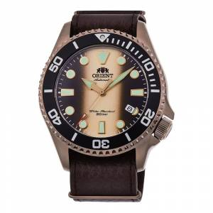 Orient Watches Ra-ac0k05g00b One Size Brown