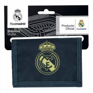 Safta Real Madrid Away 19/20 Wallet One Size Navy Blue