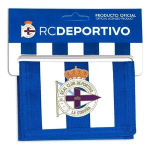 Safta Deportivo De La Coruña Header Wallet One Size White / Blue