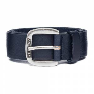 Replay Am2572 Belt 95 cm Blue Night