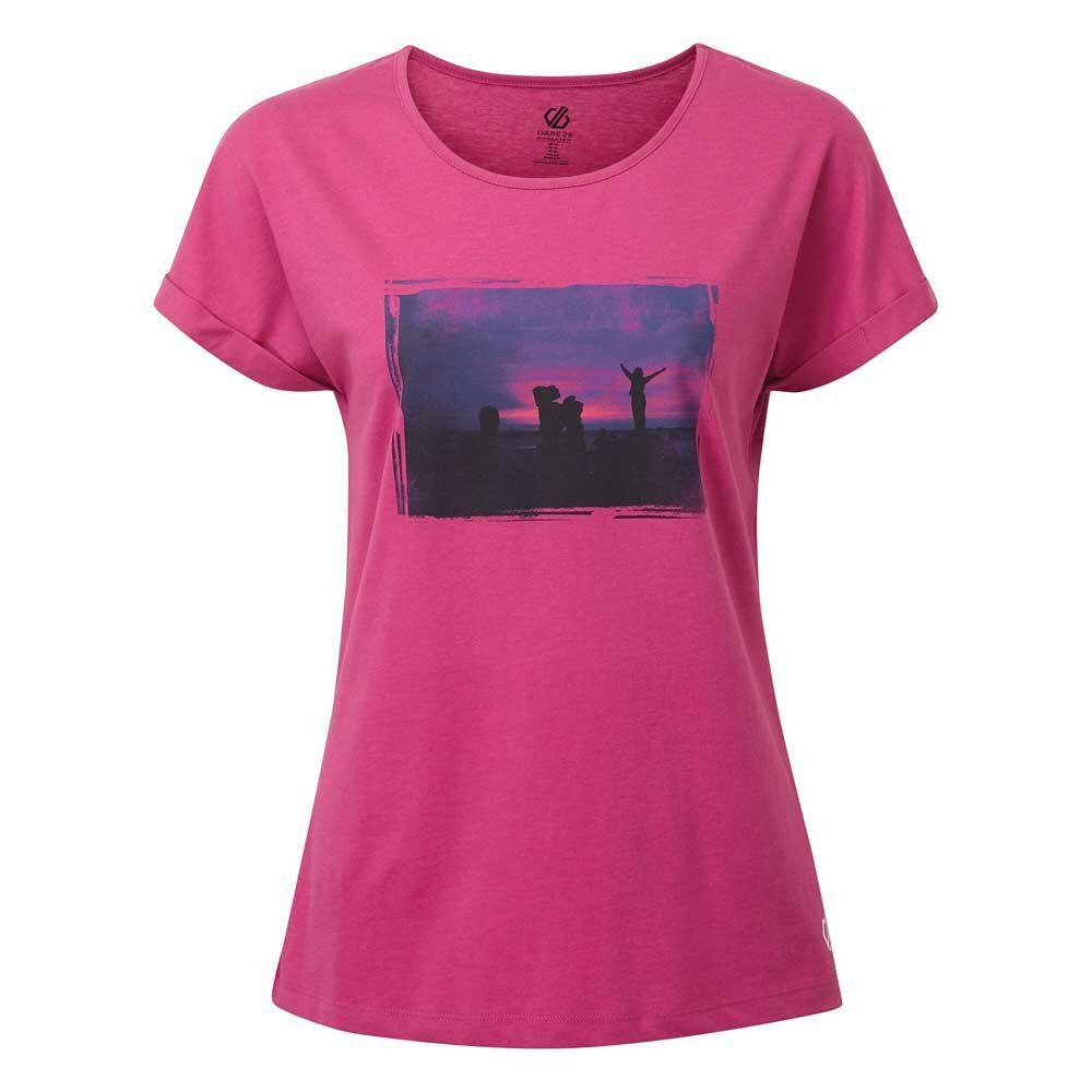 Dare2b Maglietta Manica Corta Improve 14 Active Pink
