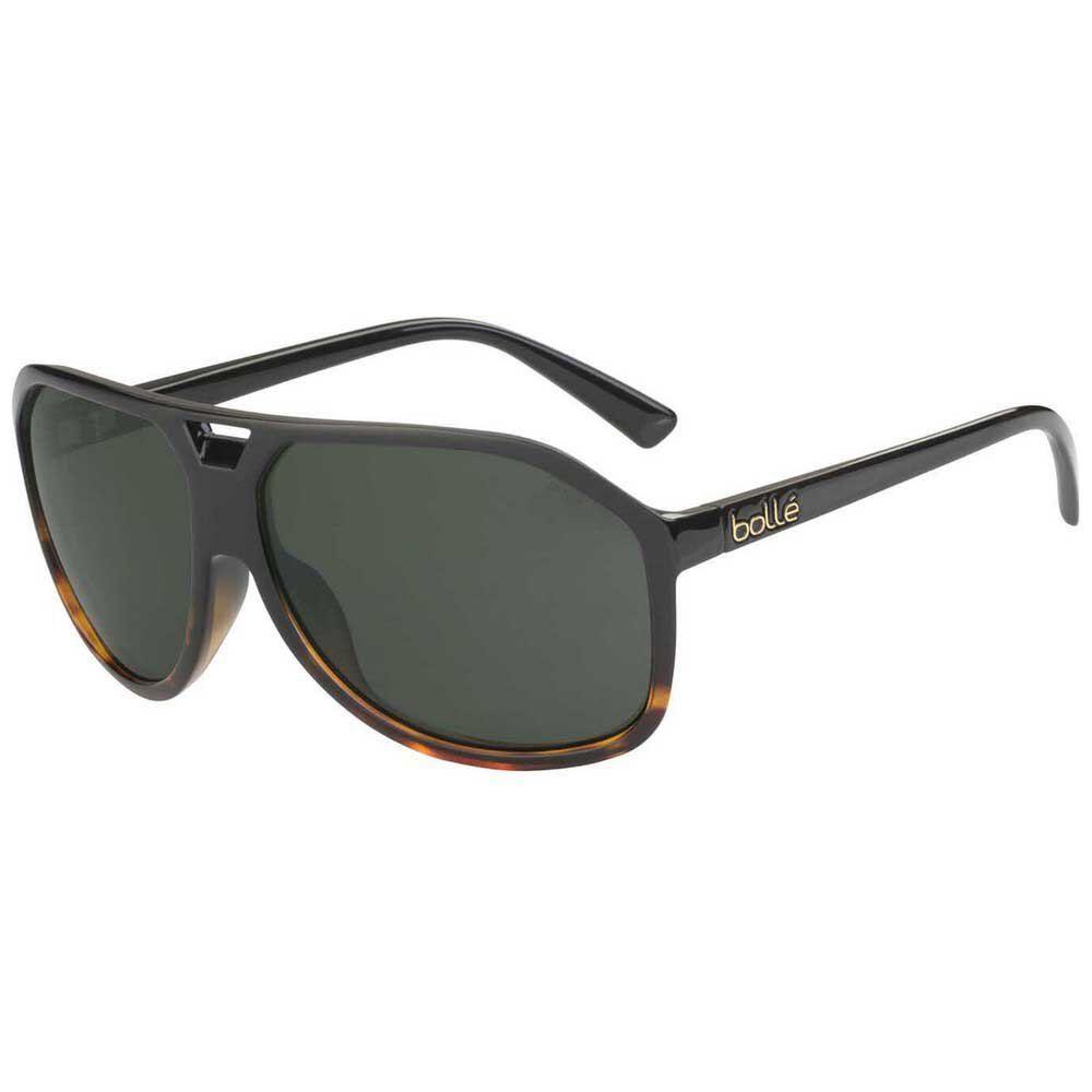 Bolle' Occhiali Da Sole Baron Polarizzate HD Axis/CAT3 Shiny Black / Tortoise