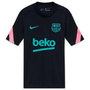 Nike Fc Barcelona Strike 20/21 Junior S Black / Black / Pink Beam / New Green