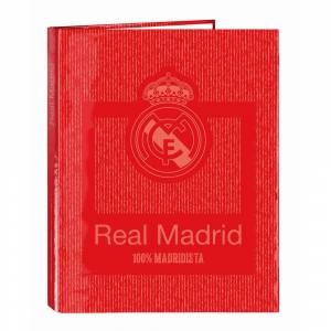 Safta Attrezzatura Ufficiale Real Madrid Folder 4 Rings Mixed