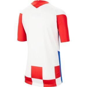 Nike Croatia Breathe Stadium Home 20/21 Junior L White / University Red / Bright Blue