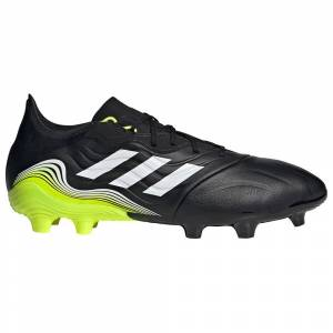 Adidas Scarpe Calcio Copa Sense.2 Fg EU 43 1/3 Core Black / Ftwr White / Solar Yellow