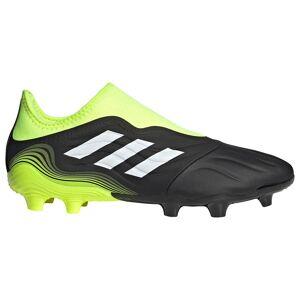 Adidas Scarpe Calcio Copa Sense.3 Laceless Fg EU 44 2/3 Core Black / Ftwr White / Solar Yellow