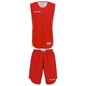 Spalding Doubleface Kids Set Junior XS Red / White