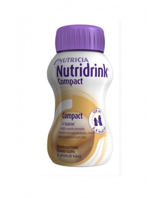 Nutricia Italia Spa Nutricia Nutridrink Compact Integratore Alimentare Gusto Caffè 4x125ml