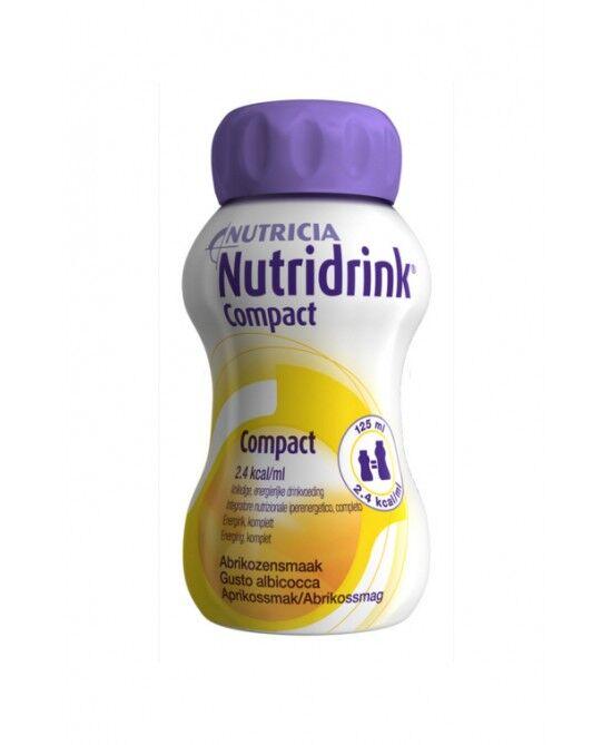 Nutricia Italia Spa Nutricia Nutridrink Compact Integratore Alimentare Gusto Albicocca 4x125ml