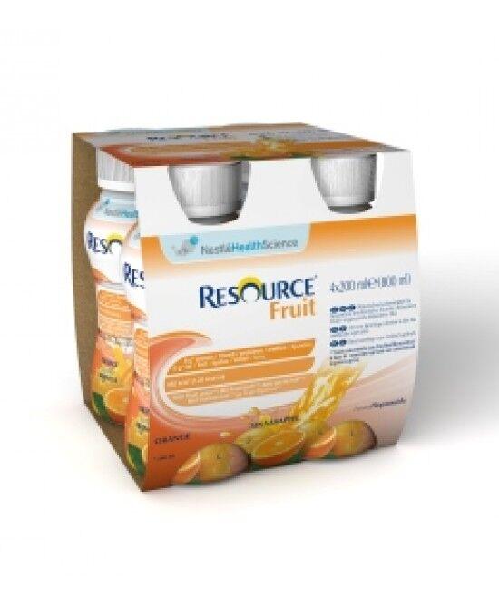 Nestle' It.Spa(Healthcare Nu.) Nestlè Resource Fruit Arancia 4x200ml