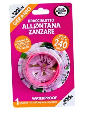 Idee Innovative Srl Braccialetto Allontana Zanzare 240 Ore